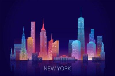 Vinilo New York skyline