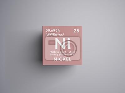 Nquel metales de transicin elemento qumico de la tabla vinilo nquel metales de transicin elemento qumico de la tabla peridica de mendeleev urtaz Choice Image