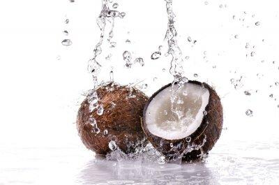 Vinilo noce di cocco splash