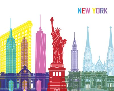Vinilo Nueva York pop horizonte
