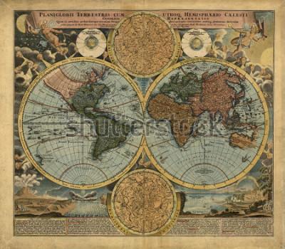 Vinilo Old map