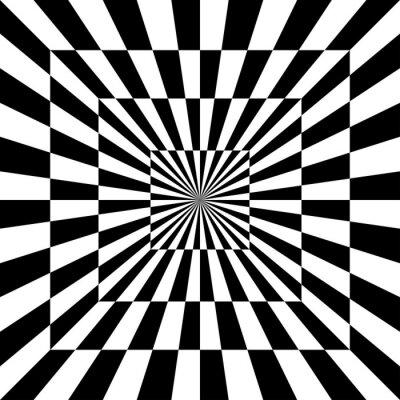 Vinilo Optical Pattern