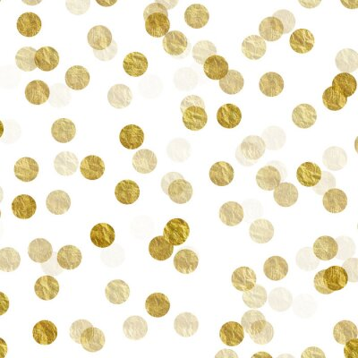 Vinilo Oro, puntos, falsa, hoja, metálico, Plano de fondo, patrón, textura