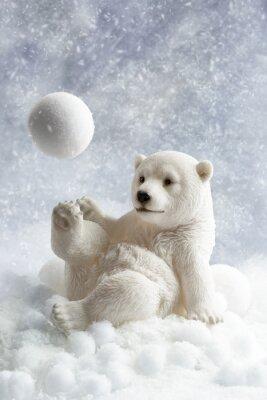Vinilo Oso polar Decoración