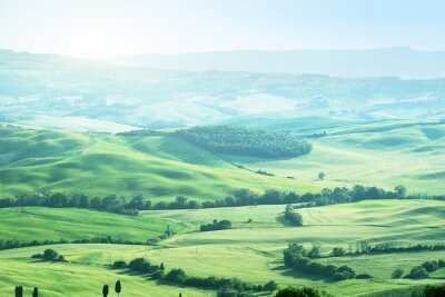Vinilo Paisaje en Toscana, Italia