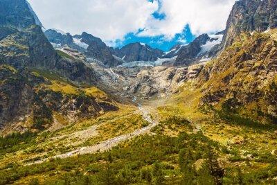 Vinilo Paisaje escénico de montaña