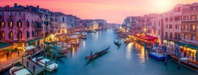 Vinilo Panorama de Venecia