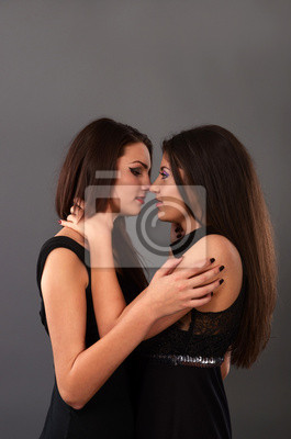 Besandose de foto lesbianas