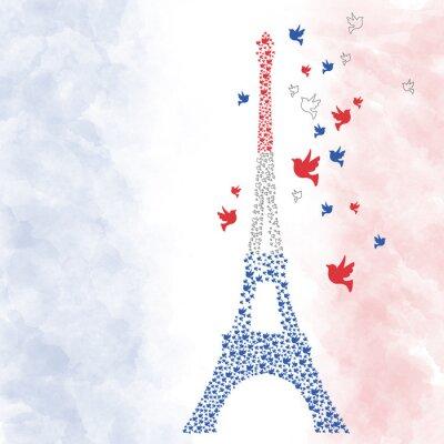 Vinilo París Eifel Turm