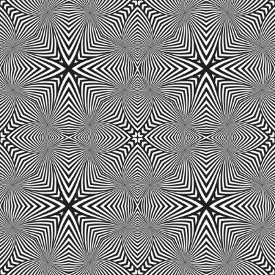 Vinilo Patrón abstracto rayado abstracto del deco del arte.