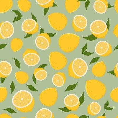 Vinilo Patrón de los limones.