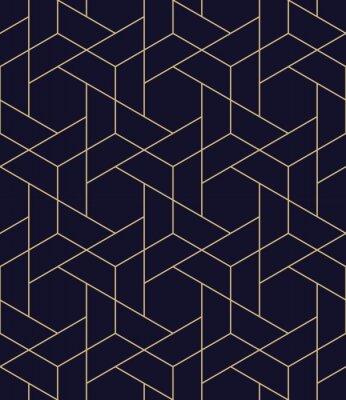 Vinilo patrón de vector de rejilla geométrica simple simple