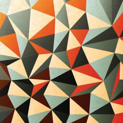 Vinilo Patrón en forma de diamante. Extracto, vector, EPS10