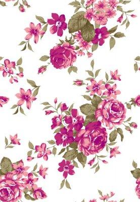 Vinilo Patrón floral Livia