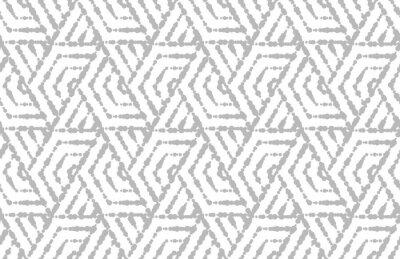 Vinilo Patrón geométrico abstracto con rayas, líneas. Vector de fondo sin fisuras