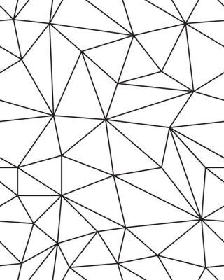 Vinilo Patrón transparente de textura de malla geométrica