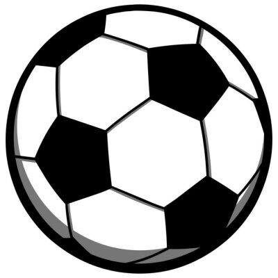 Vinilo Pelota de fútbol