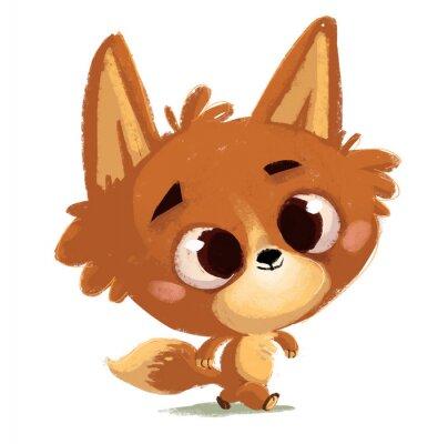 Vinilo pequeño zorro