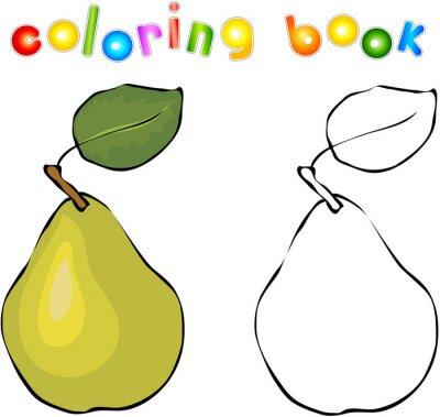 Vinilo Pera de la historieta Coloring Book