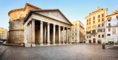 Vinilo Piazza della Rotonda e il Pantheon, Roma