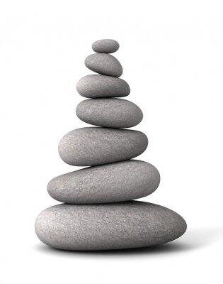 Vinilo piedras de equilibrio