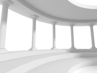 Vinilo Pilares columnas diseño arquitecture fondo
