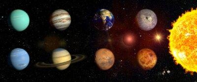 Vinilo Planetas de nuestro sistema solar