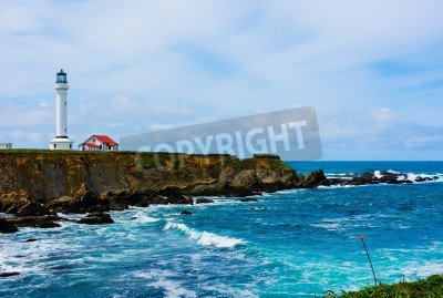 Vinilo Point Arena Lighthouse in California