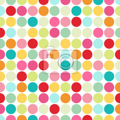 Vinilo polka dot background