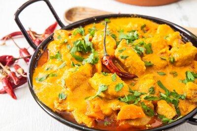 Vinilo Pollo al curry