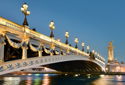 Vinilo Pont alexandre, París