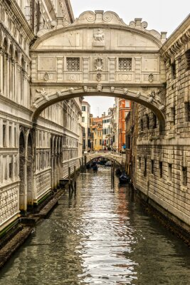 Vinilo Ponte dei Sospiri, Venecia, Italia