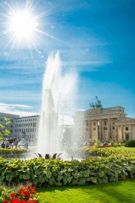 Vinilo Porte de Brandebourg, Puerta de Brandenburgo, Brandenburger Tor, Berlín, Alemania
