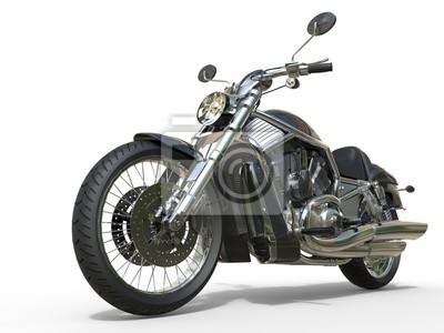 Vinilo Potente, vendimia, motocicleta, primer plano