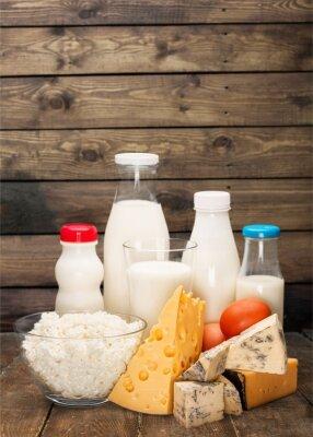 Vinilo Producto lácteo.