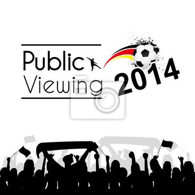 Vinilo Public Viewing 2014