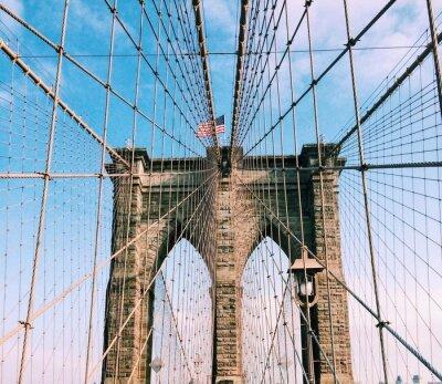 Vinilo puente de Brooklyn