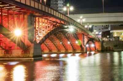 Vinilo Puente de la noche de Tokio