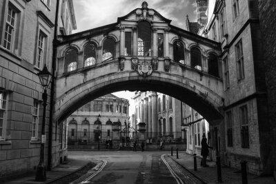 Vinilo Puente de los Suspiros en Oxford.