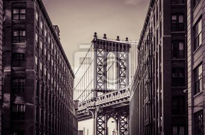 Vinilo Puente de Manhattan