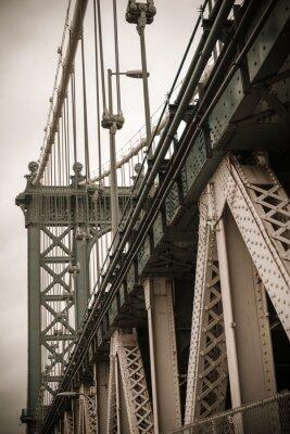 Vinilo Puente de Nueva York Manhattan