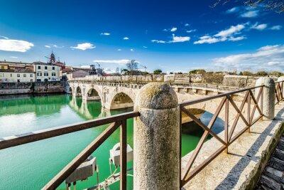 Vinilo Puente de Tiberio en Rimini