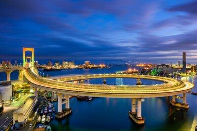 Vinilo Puente del arco iris Tokio