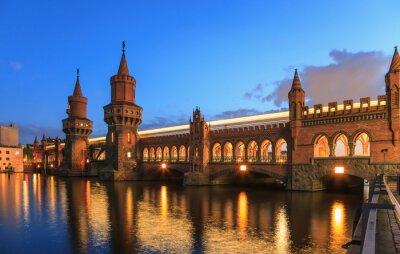 Vinilo Puente Oberbaum, Berlín, Alemania