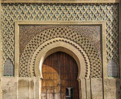 Vinilo Puertas antiguas en Meknes, Marruecos