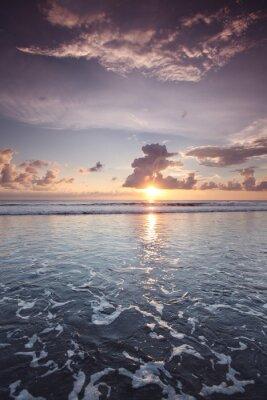 Vinilo Puesta de sol en Bali