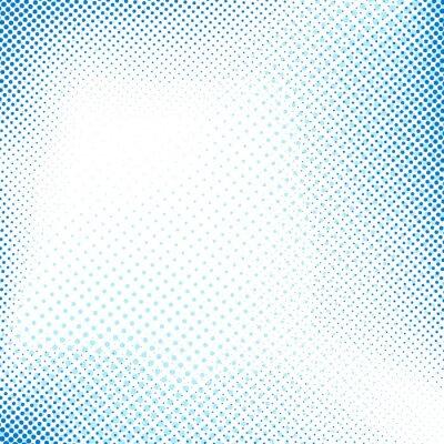 Vinilo Punteada azul retro resumen de antecedentes