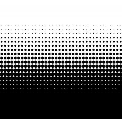 Vinilo puntos negros gradiente