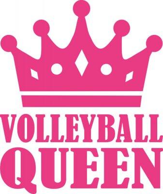 Vinilo Reina de voleibol