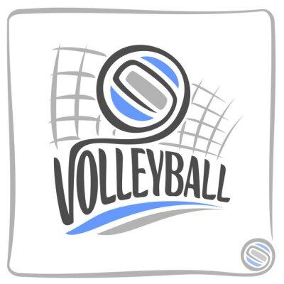 Vinilo Resumen de antecedentes sobre el tema de voleibol
